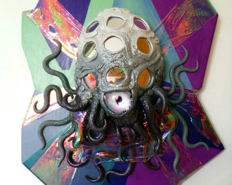 From Saturn with Love x Psychedelic Alien Specimen Sculpture