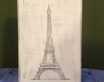 Rustic Eiffel Tower