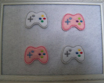 Game Controller Feltie, Two Colors you Choose , Always Precut