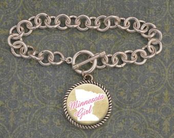 Minnesota Girl Bracelet