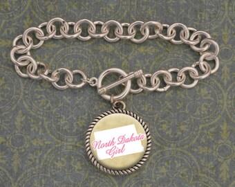 North Dakota Girl Bracelet