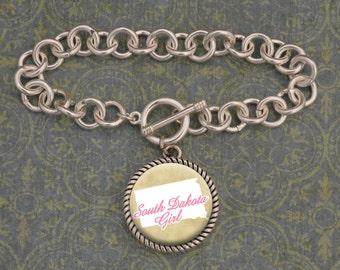 South Dakota Girl Bracelet