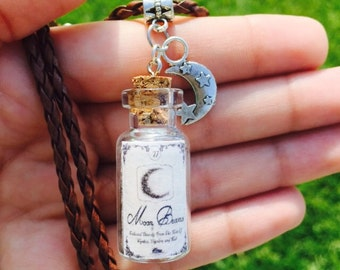 Mood dust bottle charm