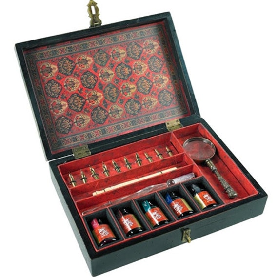 Complete Calligraphy Set Trianon Travel Includes