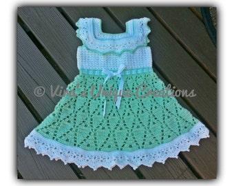 Crochet toddler dress, crochet dress, toddler dress, crochet white dress, crochet toddler white dress, toddler white dress, made-to-order