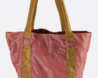 Handmade Raw Silk Handbag