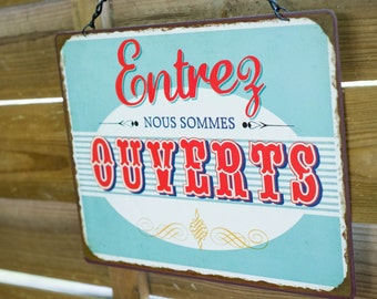 Retro sign for Candy Bar - marriage spirit guingette|
