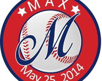 Birthday/Bar Mitzvah Logo - Baseball Theme