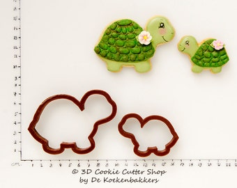 Turtle Cookie Cutter Set