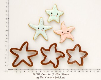 Starfish Mini Cookie Cutter Set