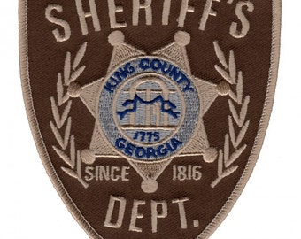 The Walking Dead Sheriff's Dept Patch