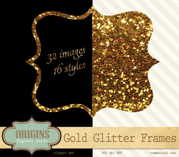 Glitter frames  Etsy