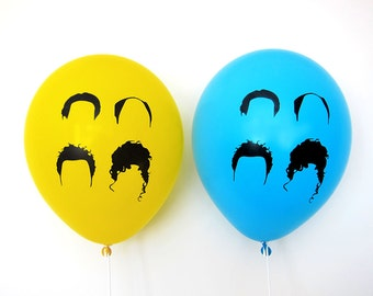 A Party About Nothing Theme - Balloons - Pack of 8
