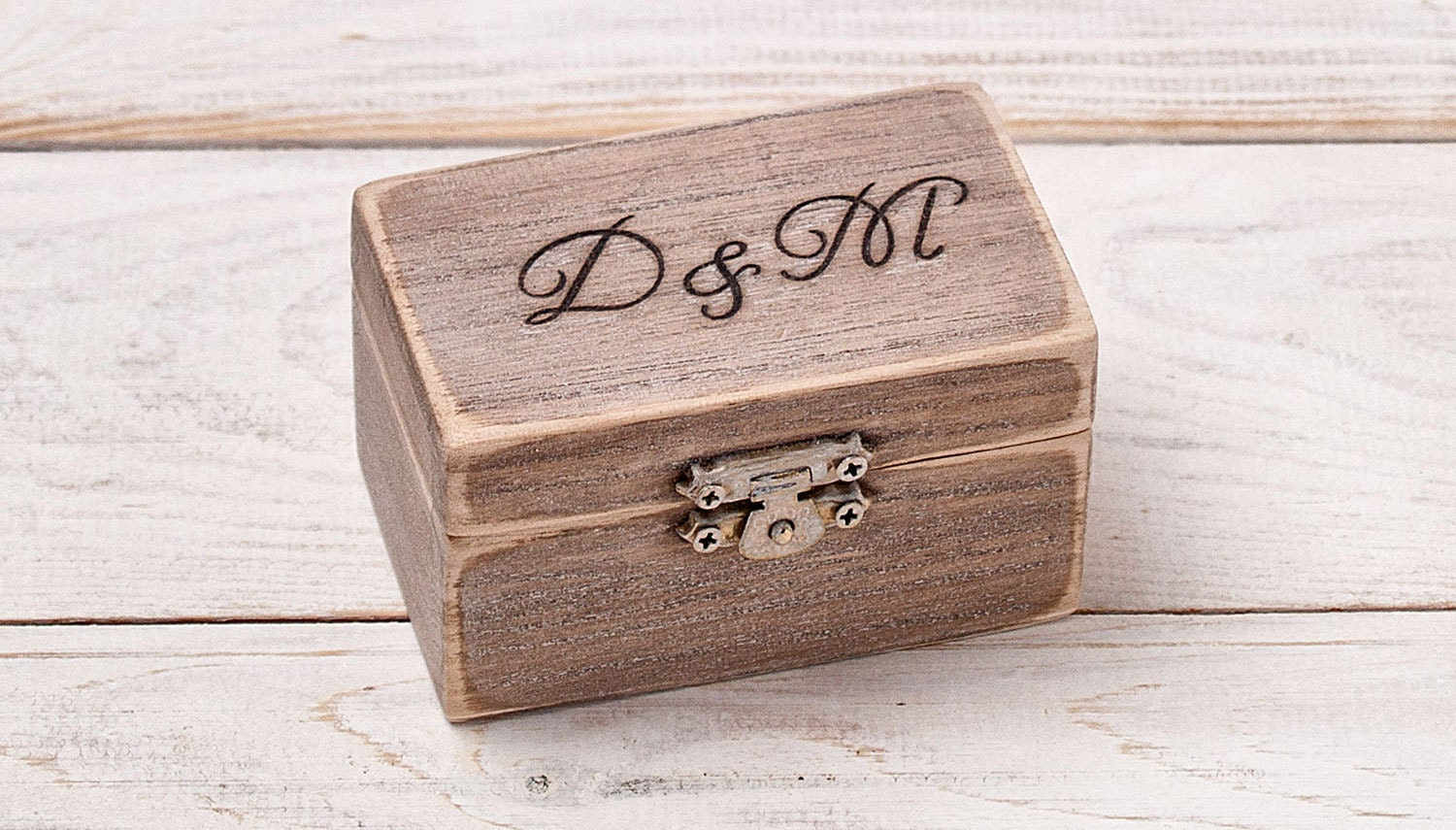 ring bearer pillow engraved ring box by inesesweddinggallery. Black Bedroom Furniture Sets. Home Design Ideas