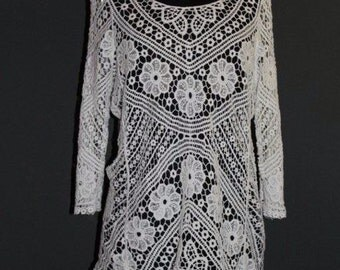 Bohemian crochet dresses