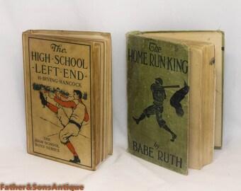 Babe Ruth! BASEBALLS BOOKS!!