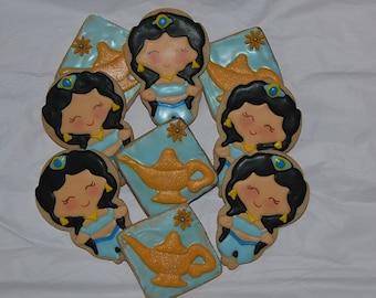 Aladdin  Princess Jasmine  Cookies