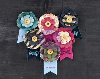 Prima flowers - Stationers Desk Collection - Paper Flowers