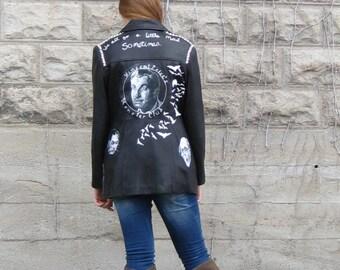 Phantom Of The Opera Modified Leather Jacket Fall Sale Item