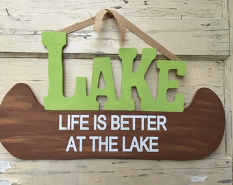 Lake Door Hanger