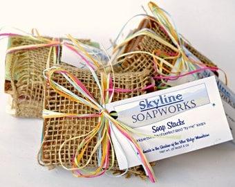 Soap Samples - Soap Sampler - Homemade Soap - Natural Soap - Guest Soap - Travel Soap - Milk Soap - Cold Process Soap - Samples - Soap Bar