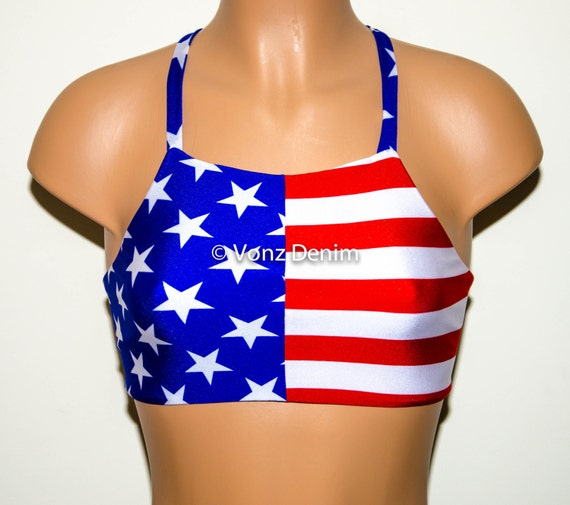 Men's Womens Patriotic USA American Flag Bathing Suit Swimsuits. from $ 6 99 Prime. out of 5 stars Sociala. Women's American Flag One Piece Swimsuit Print Low Back Bathing Suits. from $ 6 99 Prime. out of 5 stars Superbaby. Womens Stars Stripes USA Flag Bikini Swimsuit Bathing Suit.