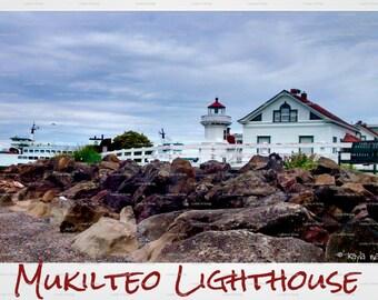 Mukilteo Lighthouse (Mukilteo, WA) Postcard