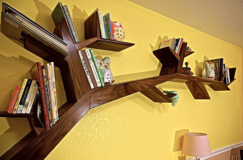 Tree Branch Book Shelf: Tree Branch Book Shelf By AceWoodCreations On Etsy
