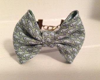 Preppy whale bow tie bracelets