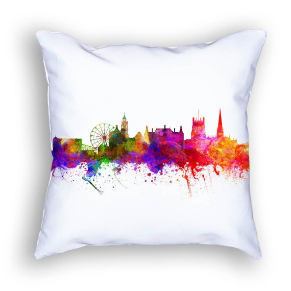 Sheffield England Pillow 18x18 Sheffield Cushion Sheffield