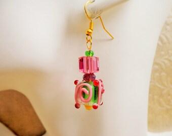 Glass Lampwork Earring