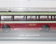 Vintage Bus Corgi Original Omnibus Boxed Die Cast Model AEC Reliance City of Oxford Scale 1 to 76 00 Gauge Railway Collectable Home Decor