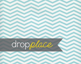 Backdrop Aqua Teal Chevron Photography Background Floor Drop Photo Prop (Material and Size Options Available)