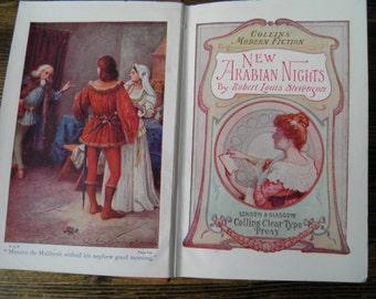 New Arabian Nights Robert Louis Stevenson, Collins circa 1910