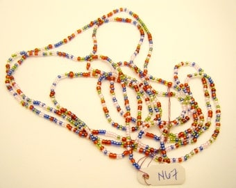 Necklace - Seed bead - Multicolor