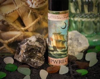 Shipwreck - Thunderstorm, Lightning, Seaweed and Sea Salt