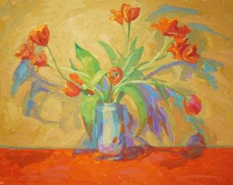 """Tulips  7.   25""""x32"""""""