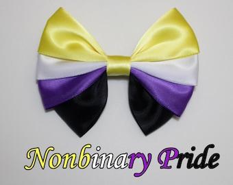 Nonbinary Pride Bow