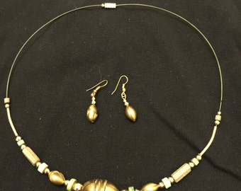 3 Different designer hand made jewelry sets