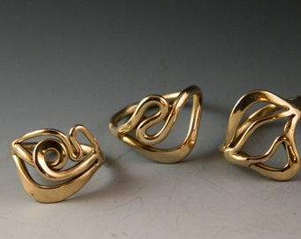 Funky Bronze Rings -Sold Separately