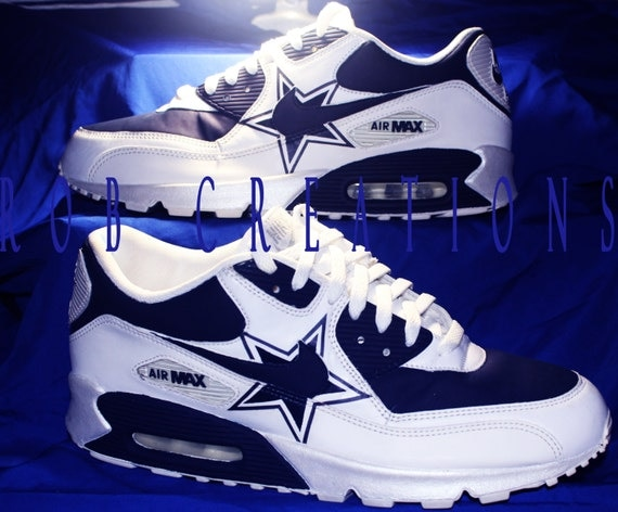dallas cowboys nike air max