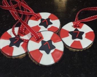 american ninja warrior cookies