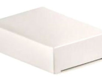 10 Wedding Cake Slice Boxes, white, flat packed, fruit cake slice boxes, wedding cake boxes, wedding supplies, UK seller