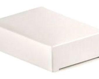 10 Wedding Cake Slice Boxes, white, flat packed, fruit cake slice boxes, wedding supplies, UK seller