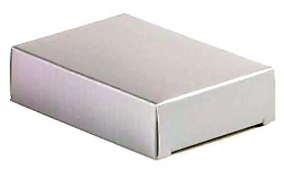 wedding cake slice boxes uk 10 wedding cake slice boxes silver flat packed weddings 24906