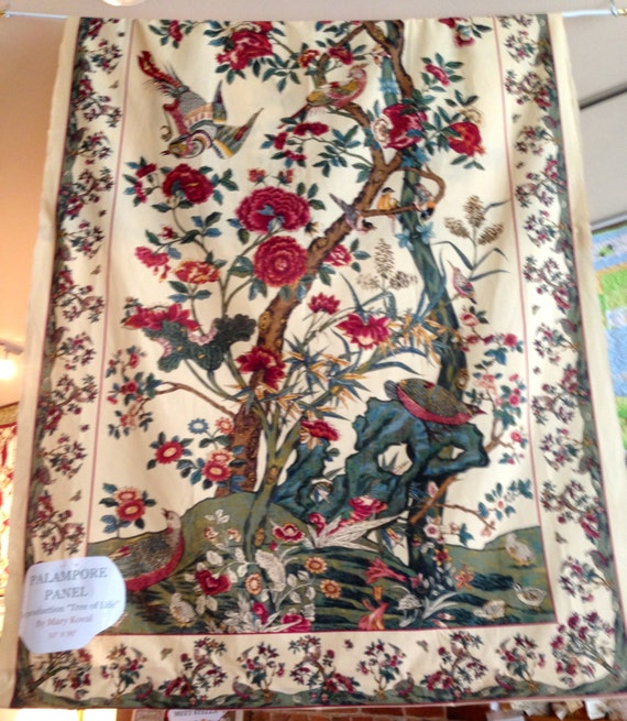 Last Remaining Panel Tree Of Life Panel By Sunvalleyfabric