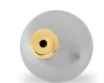 14mm Platinum Pearl Clutch (12 pair)
