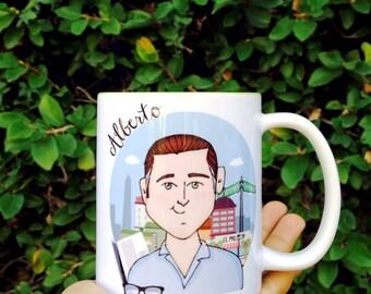 Personalized printed mug