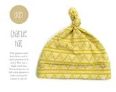 005 Charlie Hat PDF Sewing Pattern Baby Kids Toddler Knot Hat Preemie through 6T Sadi & Sam