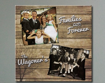 """Customized Rustic Photo Collage 